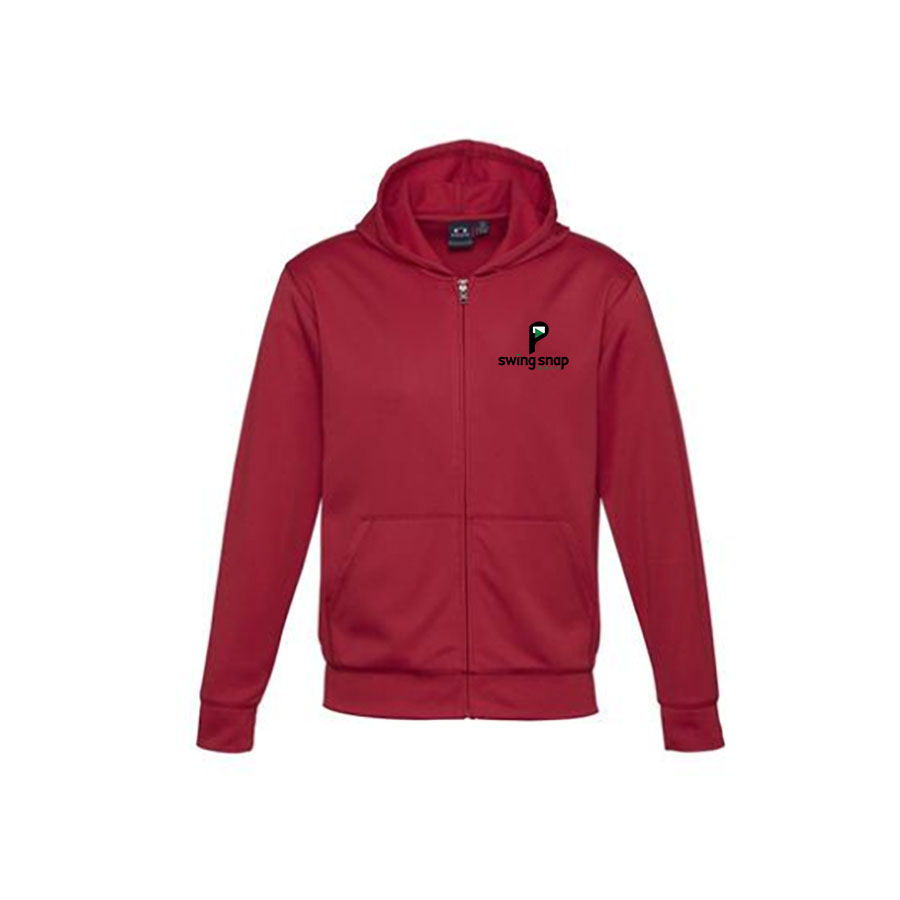 Zip Hoodie Left Chest - Youth